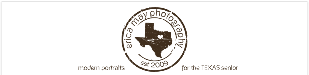 Erica May Photography {the blog} logo